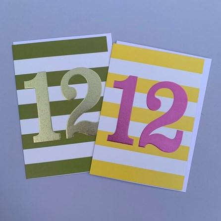 Children's 12th Birthday Card