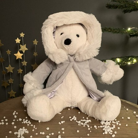 Jellycat Parkie Polar Bear Soft Toy