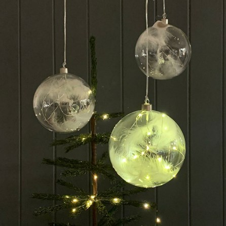 Extra Large Light Up Bauble Decoration