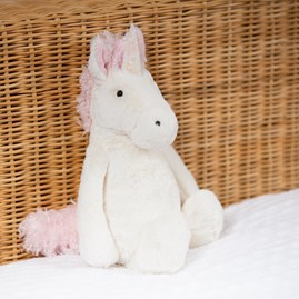 Jellycat Bashful Unicorn Medium Soft Toy