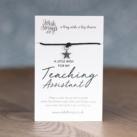 Little Wish 'Teaching Assistant' Star Wish Bracelet