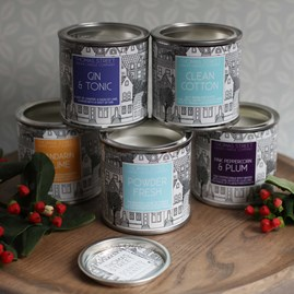 Urban Scented Candle Collection In A Tin