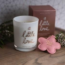'A Little love' Written Word Candle