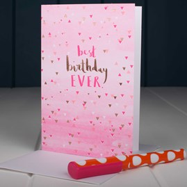 'Best Birthday Ever' Birthday Card
