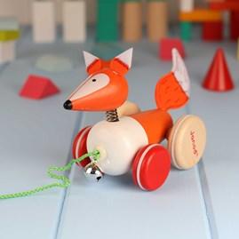 Zigolos Pull Along Fox