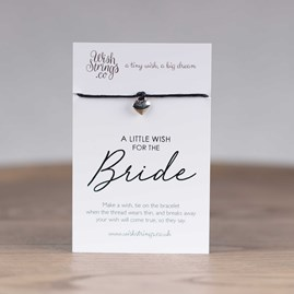 Little Wish 'Bride' Heart Wish Bracelet
