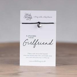 Little Wish 'Girlfriend' Heart Wish Bracelet