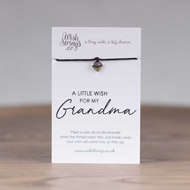 Little Wish 'Grandma' Heart Wish Bracelet