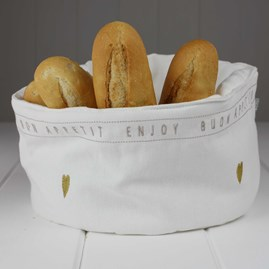 Bon Appetit Fabric Bread Basket
