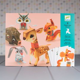 Paper Toys - Pretty Wood