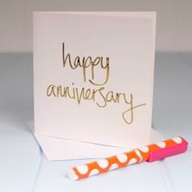 'Happy Anniversary' Greetings Card
