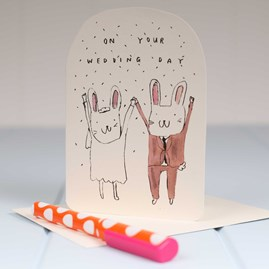 'On Your Wedding Day' Greetings Card