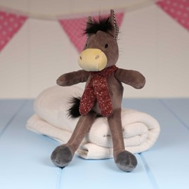 Mini Donkey Newborn Soft Toy