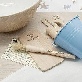 Personalised Baking Star - Baking Set For Kids