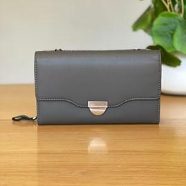 Clutch Bag in Grey