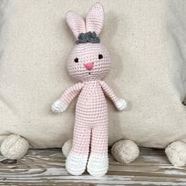 Crochet Mini Bunny Soft Toy