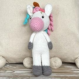 Crochet Mini Unicorn Soft Toy
