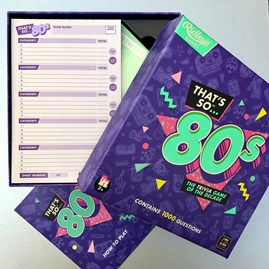 80's Trivia Quiz Of The Decade