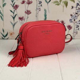 Cross Body Bag In Coral