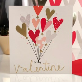 Caroline Gardner 'Be My Valentine' Card