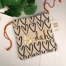 Caroline Gardner Ta-Dah Drawstring Bag