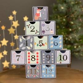 12 Days of Christmas Puzzle Calendar