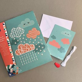Embroider Your Own Stationery Set