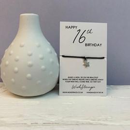 16th Birthday Wish Bracelet