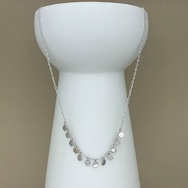 Shaker Necklace In Sterling Silver Or 18ct Gold