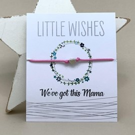 'We've Got This Mama' Wish Bracelet