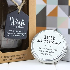 18th Birthday Wish Jar