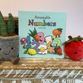 Jellycat Amuseable Numbers Book
