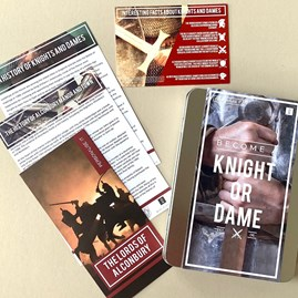 Become a Knight or Dame Gift Tin