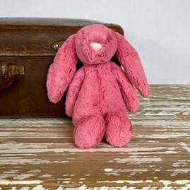 Jellycat Bashful Cerise Bunny Small Soft Toy