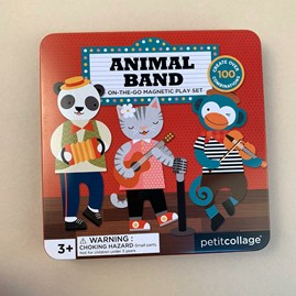 Children's Animal Band Magnetic Play Set