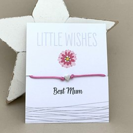 'Best Mum' Wish Bracelet