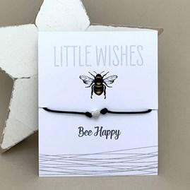 'Bee Happy' Wish Bracelet