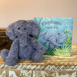 Jellycat 'Elephants Can't Fly' Children's Book