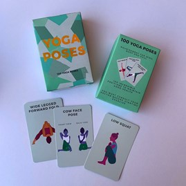 100 'Yoga Poses' Cards