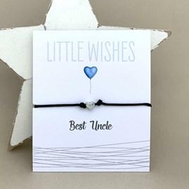 'Best Uncle' Wish Bracelet