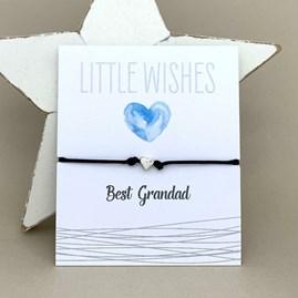 'Best Grandad' Wish Bracelet