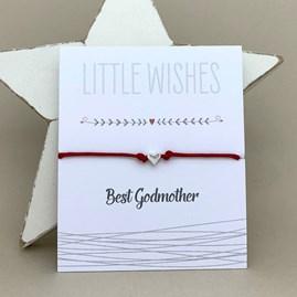 'Best Godmother' Wish Bracelet