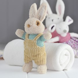 Soft Bunny Rabbit Rattle Newborn Baby Toy