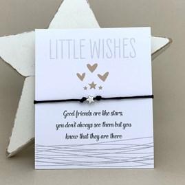 'Good Friends Are Like Stars...' Wish Bracelet