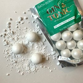 Gin & Tonic Scented Bath Bombs