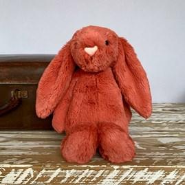 Jellycat Bashful Cinnamon Bunny Medium Soft Toy