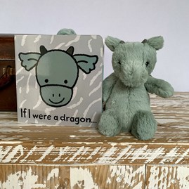 Jellycat 'If I Were A Dragon' Book