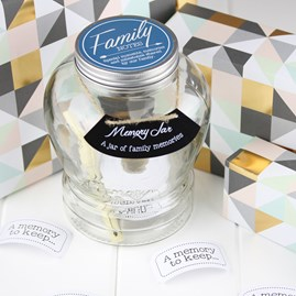 Family Wish And Memory Jar