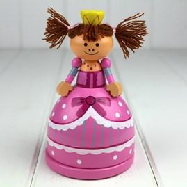 Hand Painted Wooden Princess Moneybox