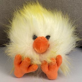 Jellycat Crazy Chick Yellow & White Soft Toy